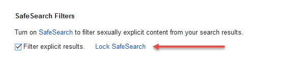 how to make safe search off in google