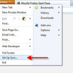 How to sync Firefox browser data one computer to another?