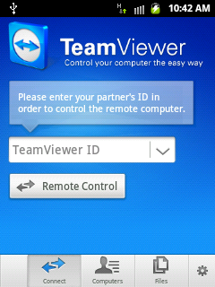 team viewer management console