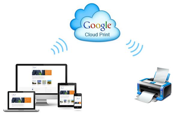 google cloud print architecture