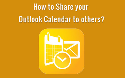 How to Share your Outlook Calendar to others