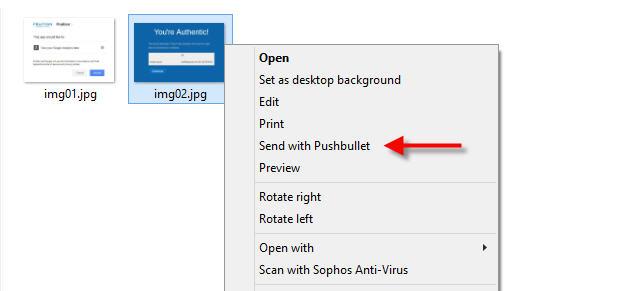 pushbullet push notification