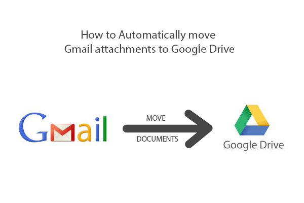 automatically download gmail attachments to google drive