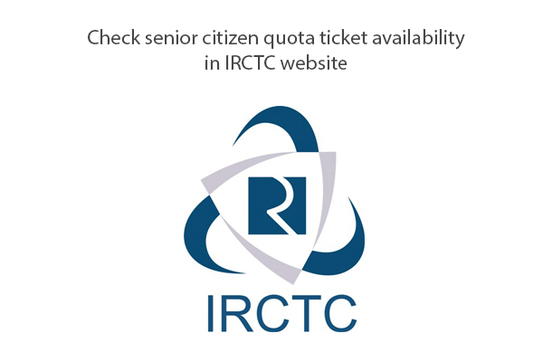 irctct senior citizen availability