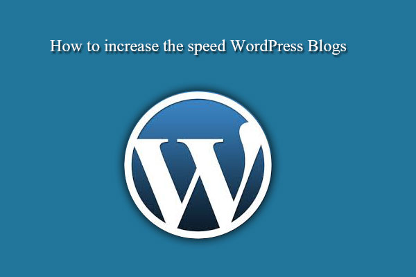 increase wordpress page speed