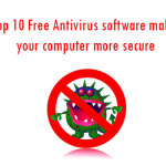 Top 10 Free Antivirus software make your computer more secure