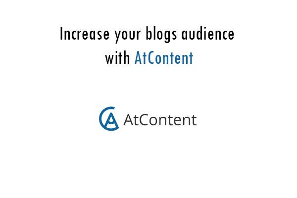 atContent get more traffic