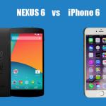 Comparison review: NEXUS 6 vs iPhone 6