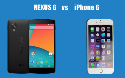 nexus6 vs iphone6