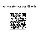 An easy way to make your own QR code