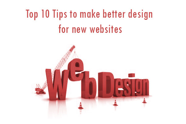 tips for better website design