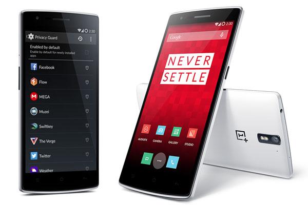 OnePlus one mobile design