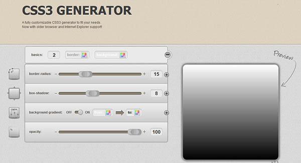 best css3 generator
