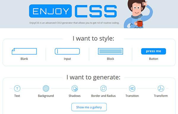 css online generator tools