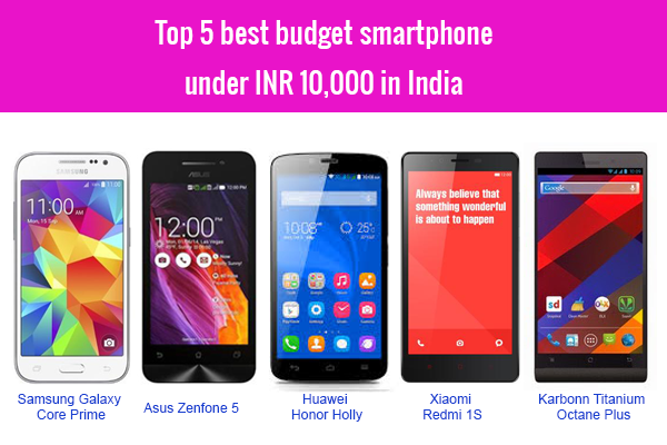 Best 4g smartphone under 10000 in india