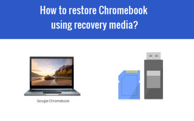 restore chromebook using recovery media