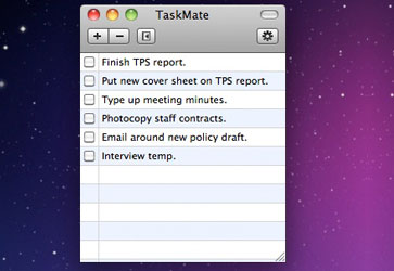 taskmate app for mac os x