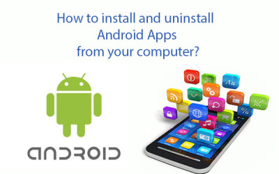 install uninstall android apps from computer