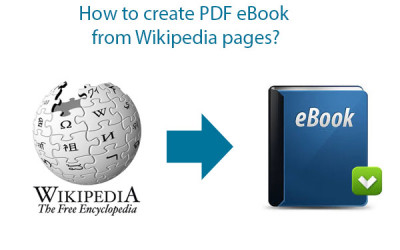 create PDF eBook from Wikipedia
