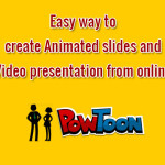 How to create Animated slides and Video presentation from online?