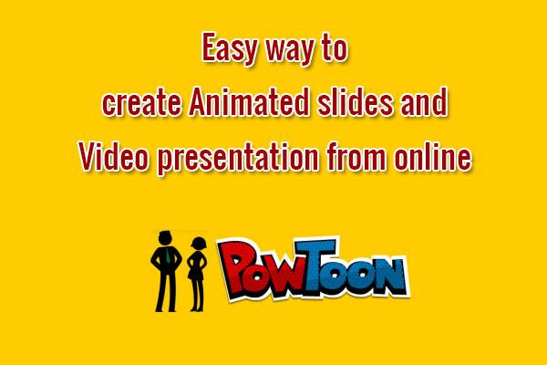 Presentation creator online