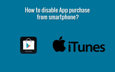 disable app purchase from smartphone