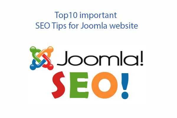 important seo tips for joomla website
