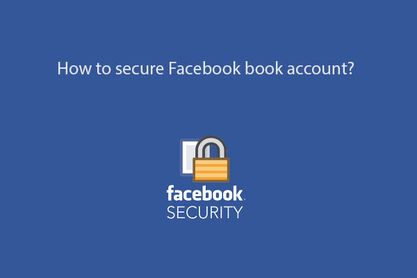 secure Facebook book account