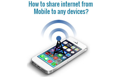 share internet from mobile to any devices