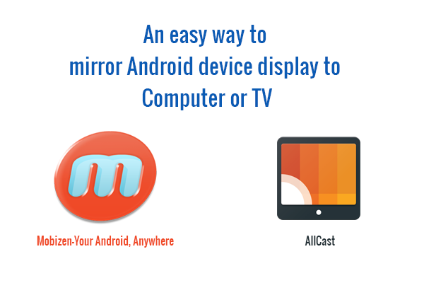 Easy way to mirror android device display to computer for Mirror your android screen to a pc