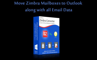 Move Zimbra Mailboxes to Outlook email data