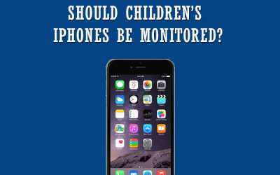 childrens iPhones monitor software