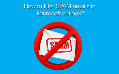 filter spam emails in outlook