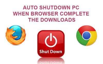 browser auto shutdown