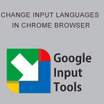An easy way to change input languages in Chrome browser