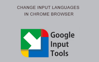 change input languages in google chrome browser