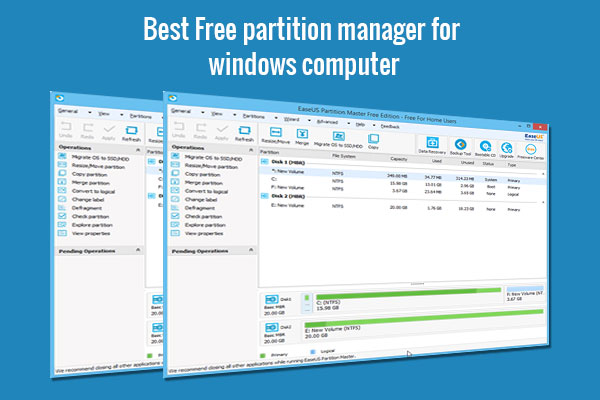 free partition manager for windows computer