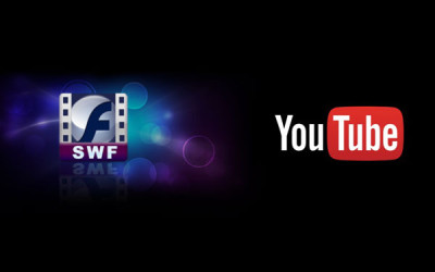 upload SWF file in to YouTube