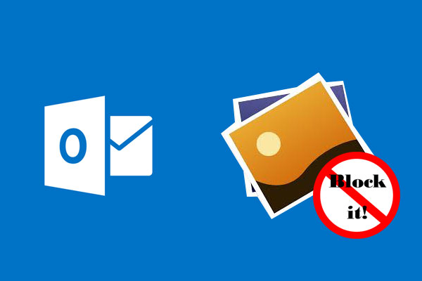 block images in microsoft outlook