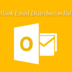 How to create Email Distribution list and send bulk email in Microsoft Outlook?