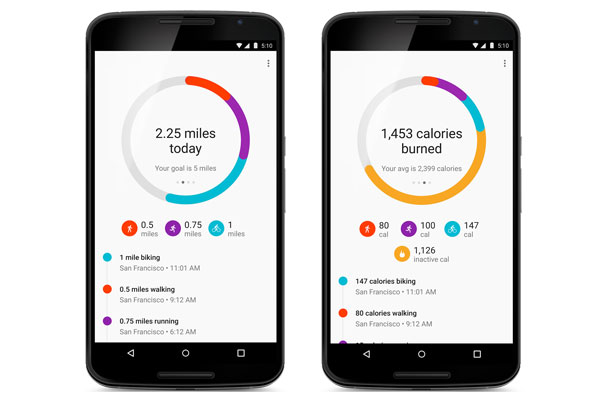 An easy way to monitor your fitness activities with Google