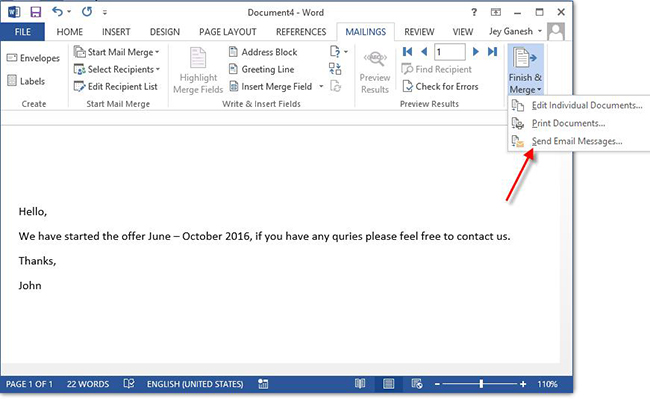 Automate Send Email One By One From Microsoft Outlook
