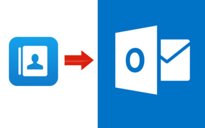 import csv contacts to outlook
