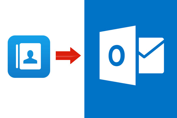 how to delete contacts from outlook