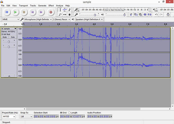 How to remove background noise from recorded audio?