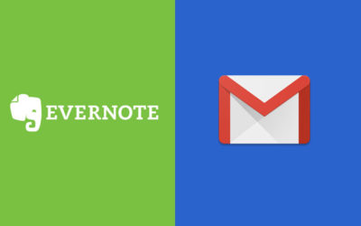 gmail evernote synchronize