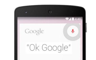 ok google voice services