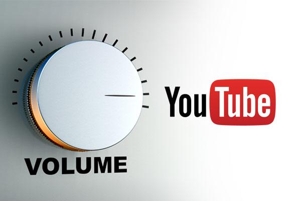 increase youtube volume