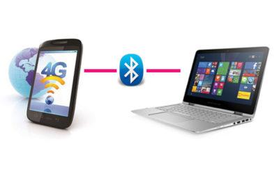 share mobiledata to pc