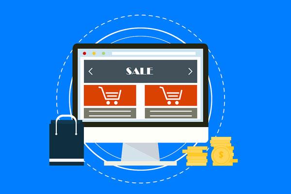 e-commerce website development features